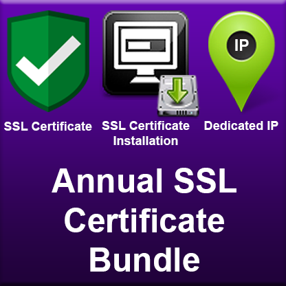 Annual SSL Certificate Bundle