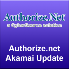 Authorize.net Akamai Update
