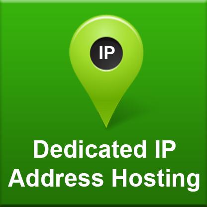 Dedicated IP Address (annual fee)