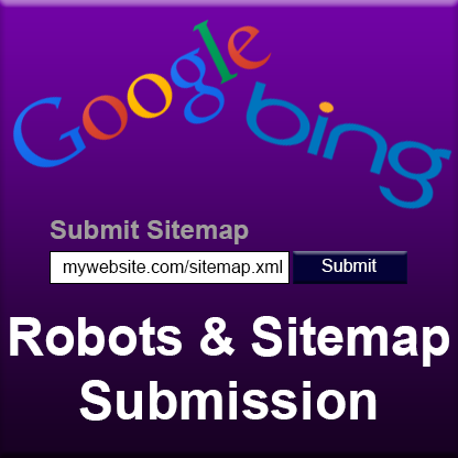 robots sitemap submission seo nothern michigan web designers