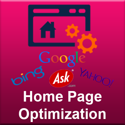 Home Page Optimization (SEO)