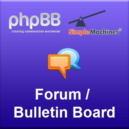 Forum/Bulletin Board